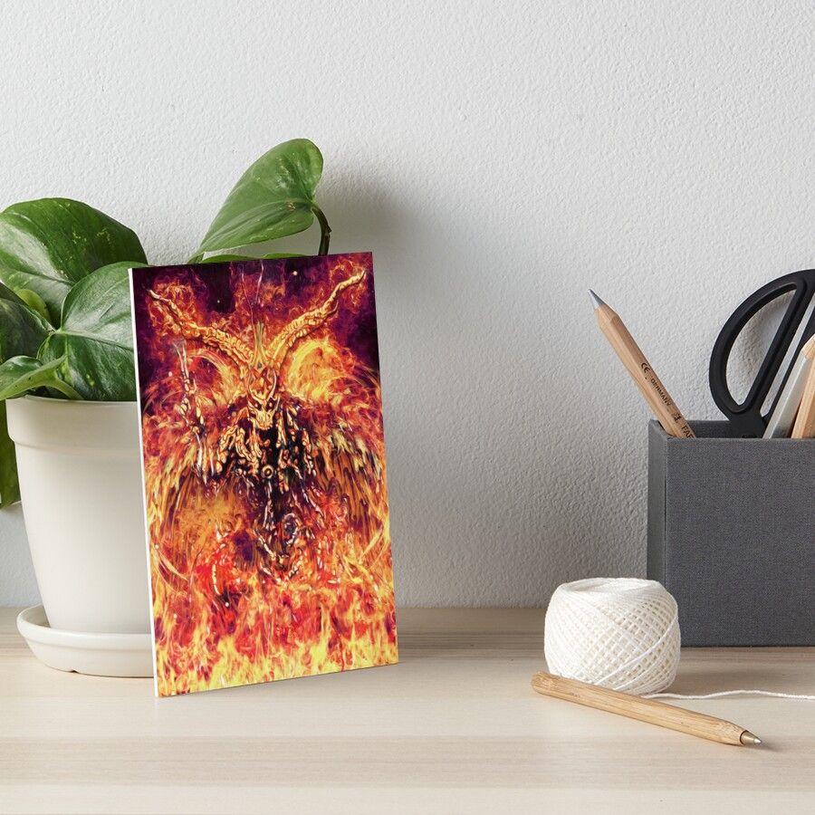 #demon #hell #spirit #monster #fire #satanic #antichrist #ancienthorror #horror #darkart #painting #digitalart #homedecor #death #bible #christianity #darksurrealism #artwork #redbubble #merchandise #inspiration #belphagor #occult #goth