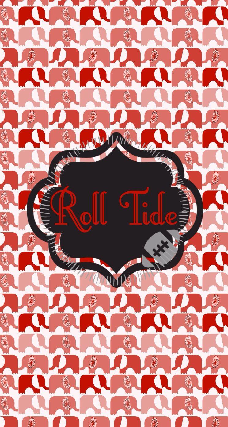 Alabama Roll Tide Iphone Wallpaper Alabama Crimson Tide Football