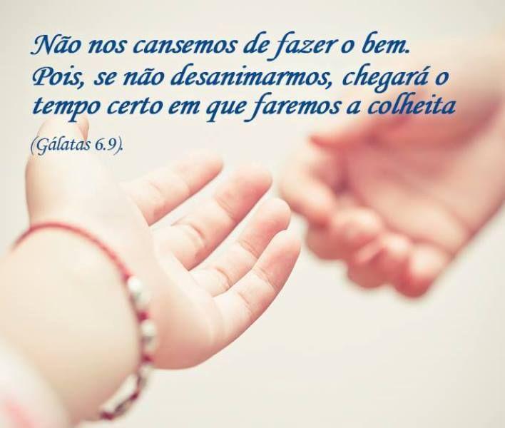 Image result for Gálatas 6:9