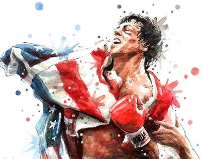 Rocky 3 Drawing Google Search With Images Rocky Balboa