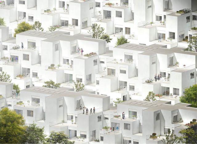 Alvenaria Social Housing, Lisbon, Portugal - by Fala Atelier