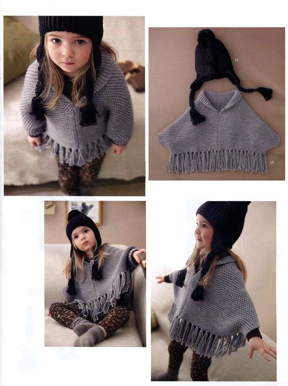 Hey, I found this really awesome Etsy listing at https://www.etsy.com/listing/203281294/english-easy-kid-poncho-and-ear-flap-hat