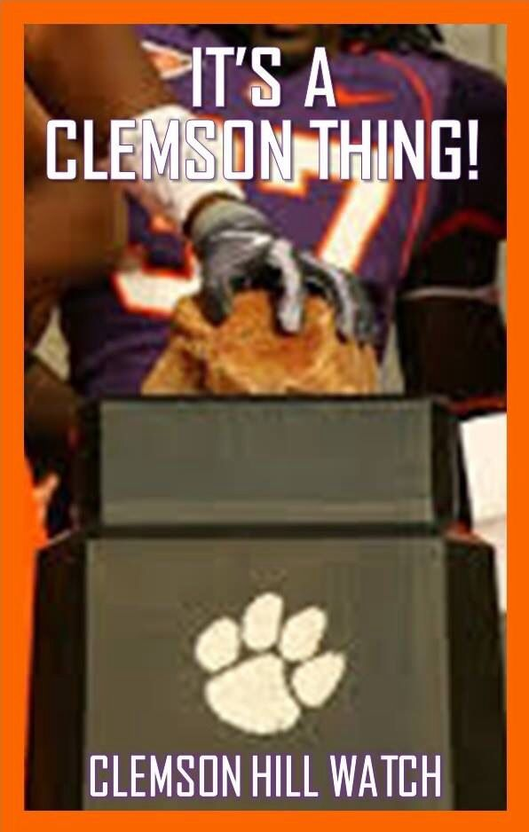 Clemson Gives You Chill Bumps Just Thinking About It Clemson Clemson Tigers Football Clemson University Tigers