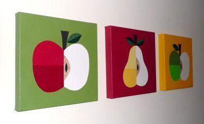 fruit wall art