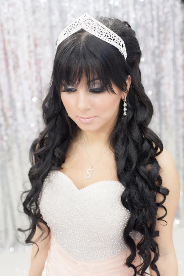 Wedding Hair Down With Veil And Tiara : 30 beautiful wedding hair for bridal veils veil