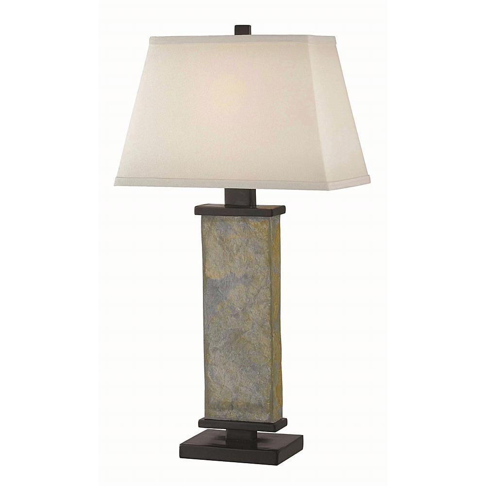 Home Marketplace Kenroy Home Hanover Table Lamp Natural Slate Slate Table Lamp Lamp Table Lamp