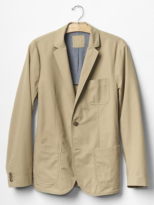 Cotton twill blazer | Gap | Sport Coats and Blazers Style | Pinterest