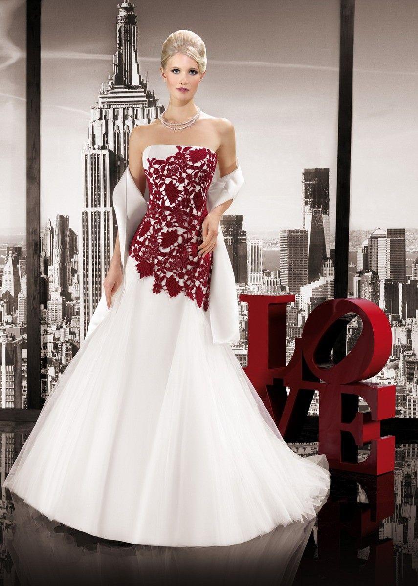 Robe de mariée Miss Paris 2014 - Rèf : MP143-17 $287.99 Miss Paris 2014