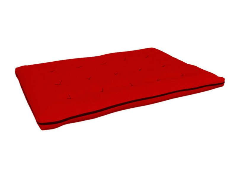 matelas futon pour banquette emiko coloris rouge vente. Black Bedroom Furniture Sets. Home Design Ideas