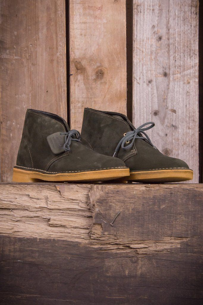 f3943c0f0 Clarks Desert Boots - Loden Green - The Priory | Menswear | Clarks ...