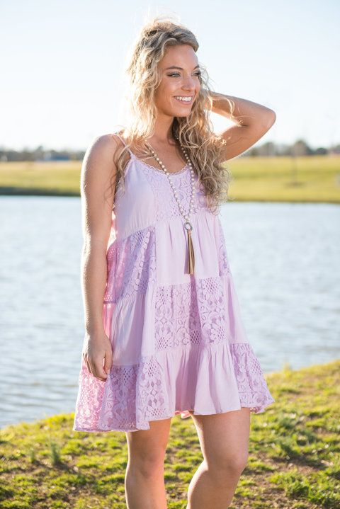 Forever And Ever Dress, Lavender || You will love this dress forever and ever and that is no lie!! The soft lavender color looks gorgeous on so many skin tones and it's a beautiful color for spring!!