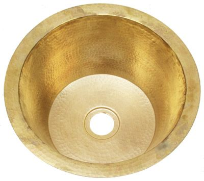 Bar Sink Rbv14 Brass Round Hammered Brass Choose Color Brass Sink Bar Sink Wet Bar Sink