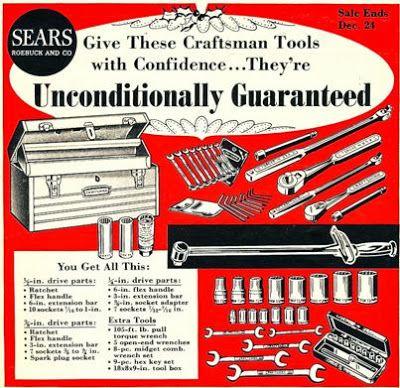 Under His Tree Sears Craftsman Tools Popular Science