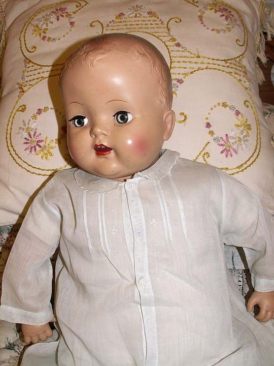 Antique Baby Doll Dress Vintage 1930s To 1940s Fits 24 To