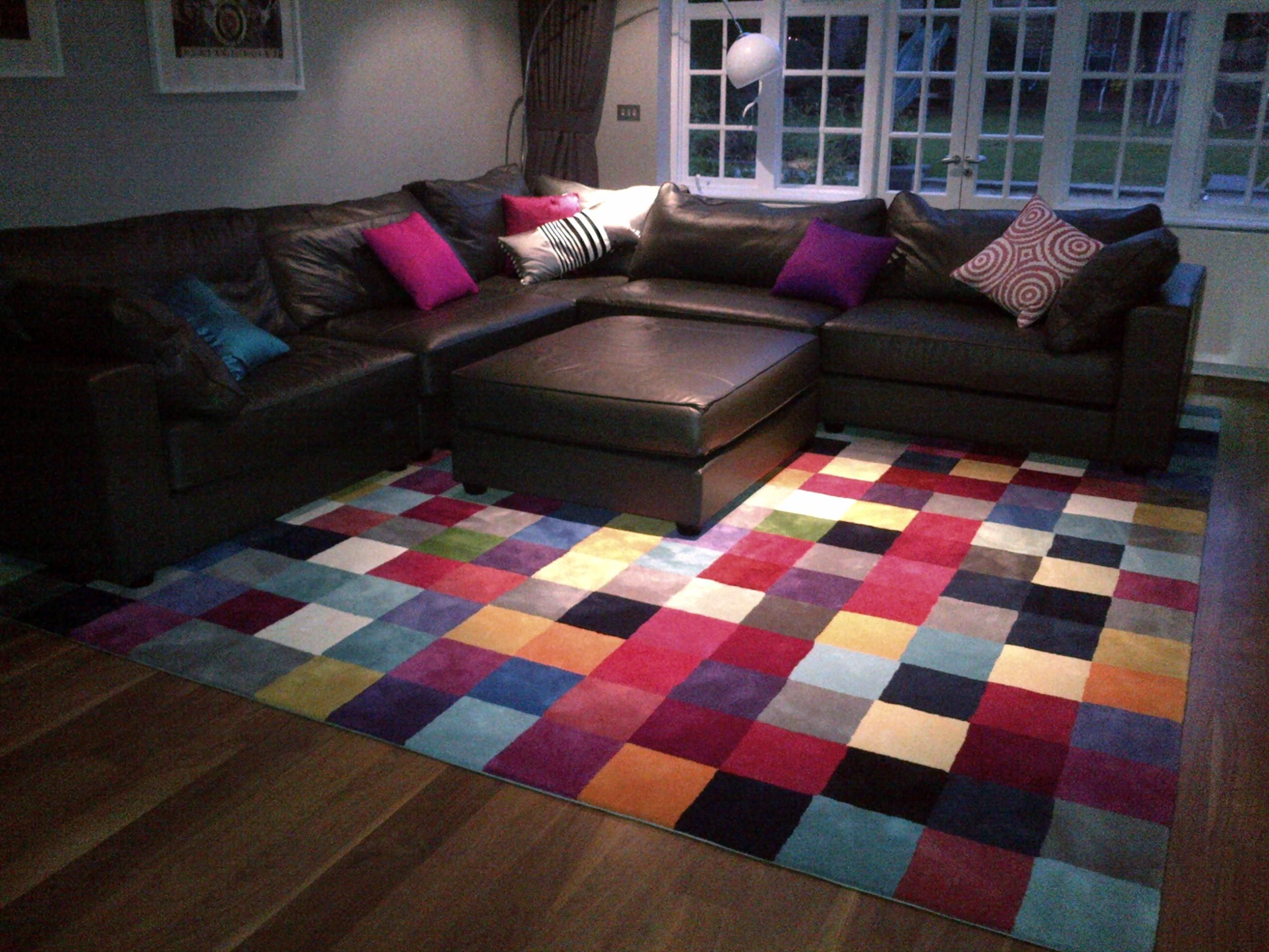 Bespoke Rug 380cm X 20cm Squares From Colour Selection To Delivery 6