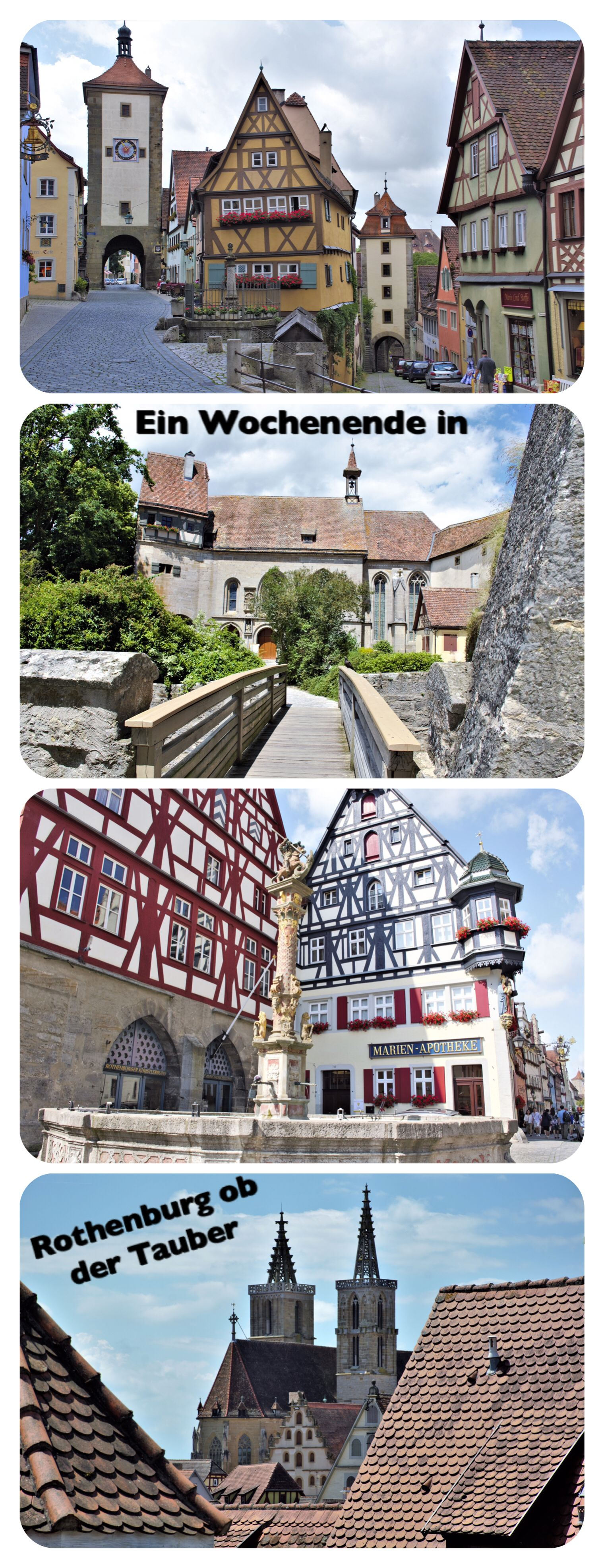 Photo of Wochenende in Rothenburg ob der Tauber