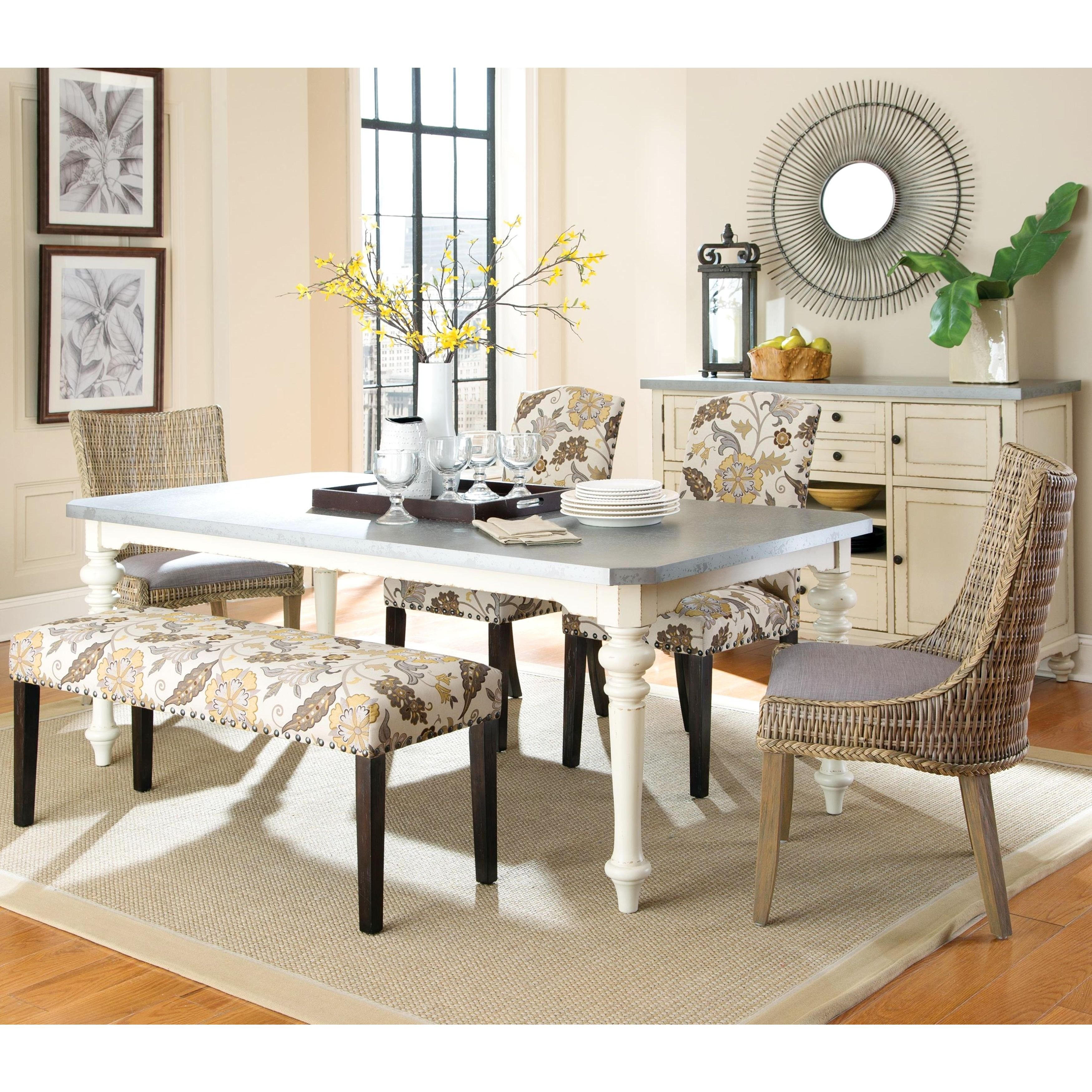 Exceptionnel Brighten Up Your Dining Room With This Elaborate Tropical Design Dining  Set. Choose From Floral