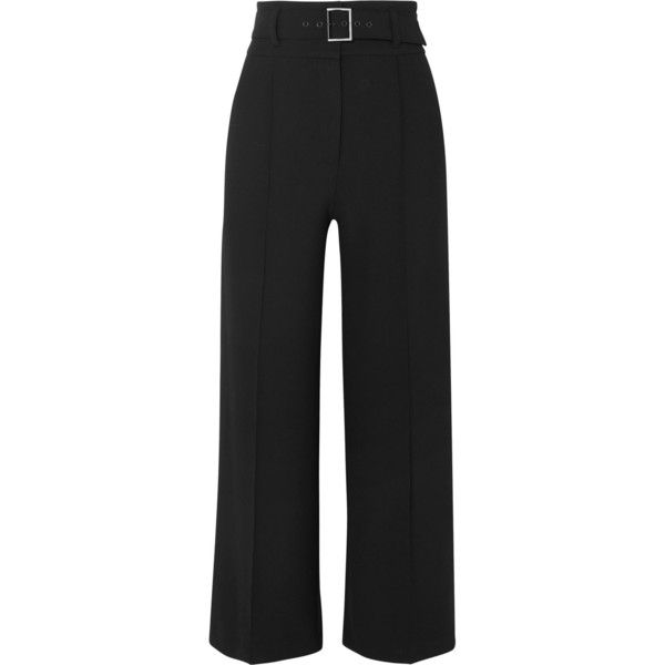 slim-fit cropped trousers - Black Veronica Beard bzWVUt