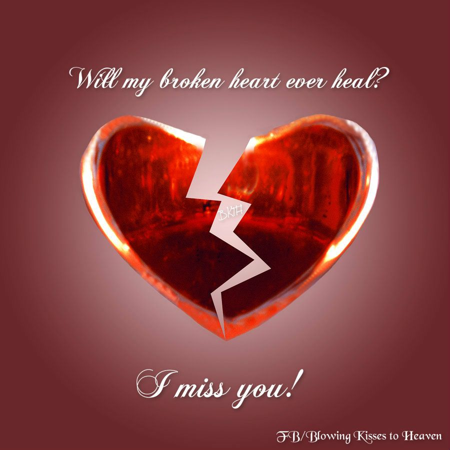 Will my broken heart ever mend?