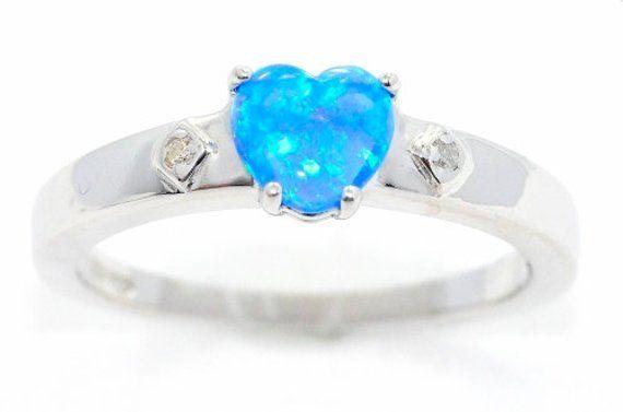 Opal /& Diamond Heart Mom Bracelet .925 Sterling Silver
