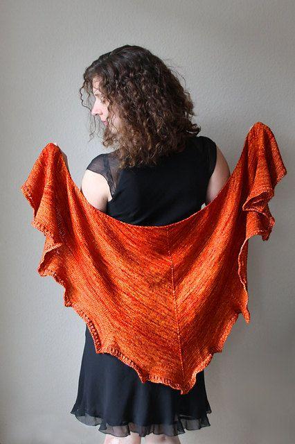 Knitting pattern  Shawl You're Beautiful by mairlynd on Etsy, $6.00