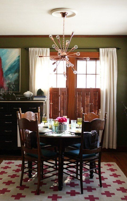 The Add A Little Color Dining Room Makeover