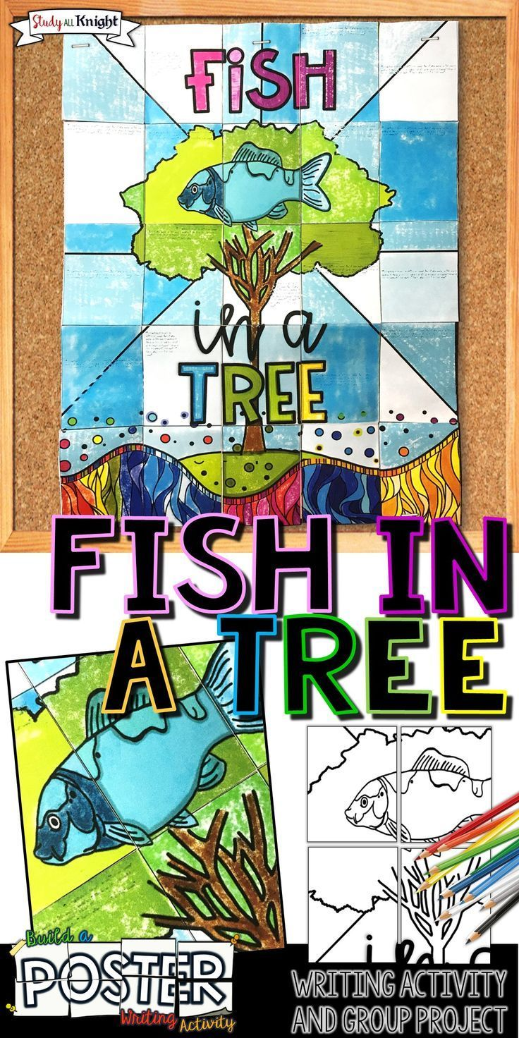 Fish in a Tree, Collaborative Poster, Writing Activity