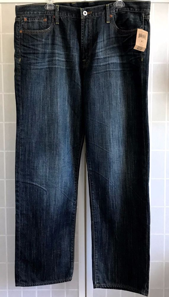 d096215d Lucky Brand Jeans Mens 361 Vintage Straight Fit Whispering Pines 38 33 New # LuckyBrand #Vintage