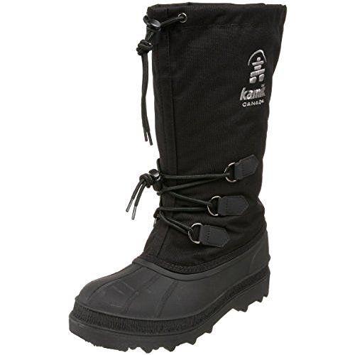 Kamik Mujer Canuck Snow botas negro 8 8 8 Toe warmers Bundle  Visit 342b70