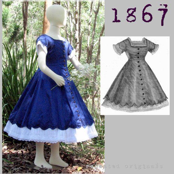 Girl/'s Silk  Colonial Dress size 5 SALE