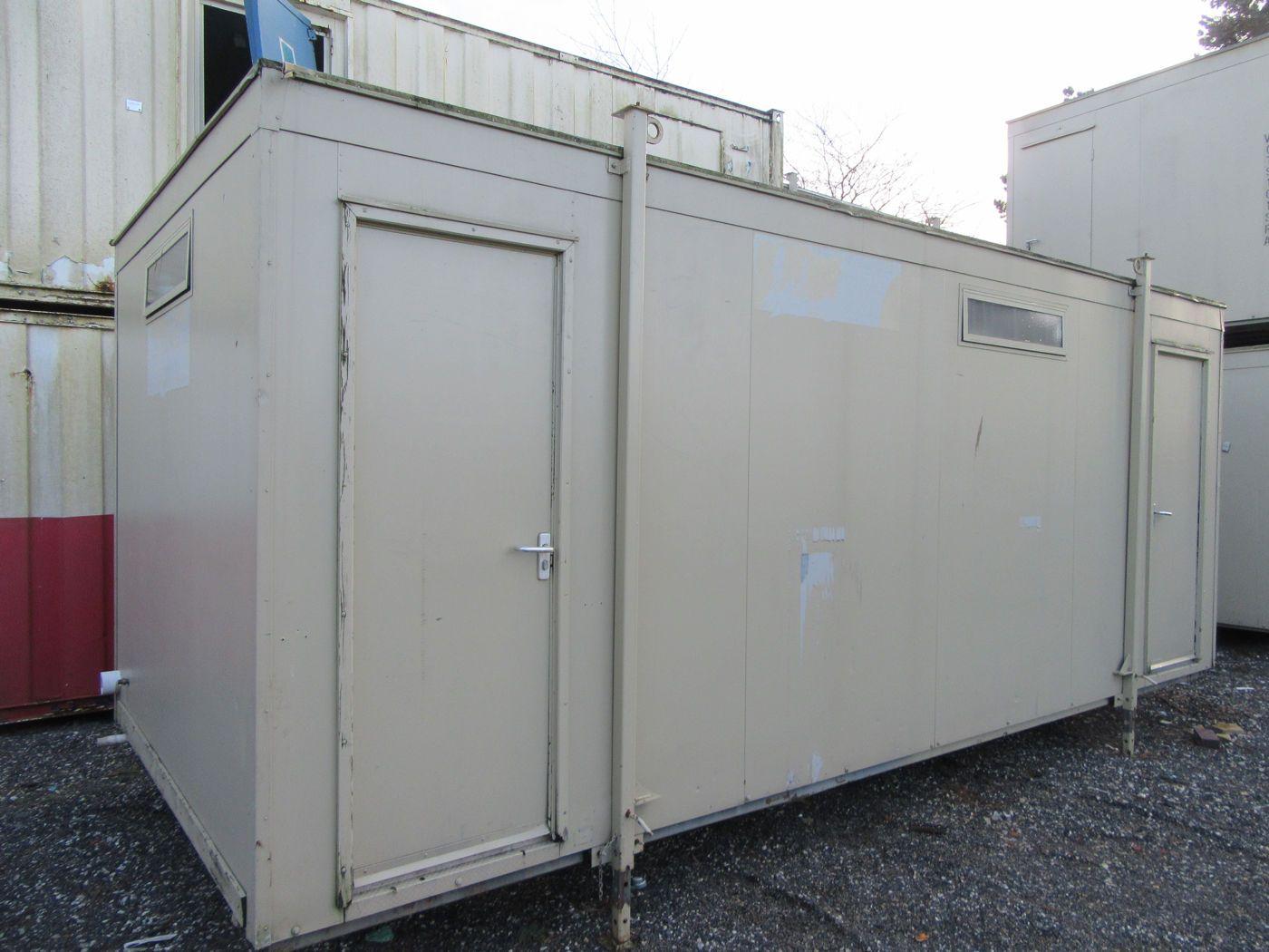 20ft X 9ft 3 2 Toilet Block Portable Toilet Camp Site Toilet 3 Mal Used Trucks Portable Toilet Forklift