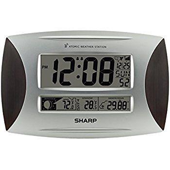 24 Sharp Atomic Clock Instructions Home Furnishings Pinterest