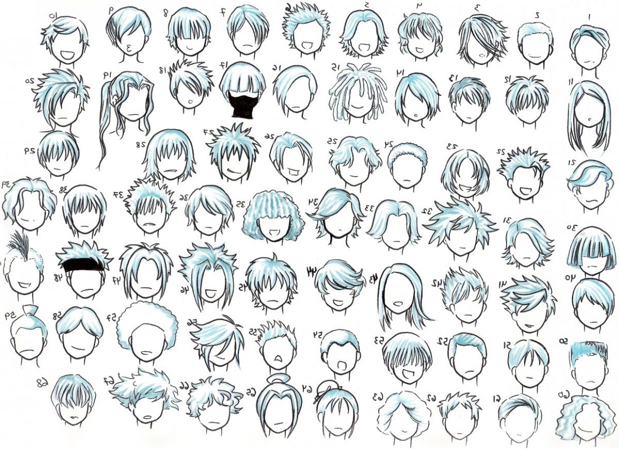Anime Hairstyles Male Cool Cartoon Drawings Anime Boy Hair Cartoon Hair