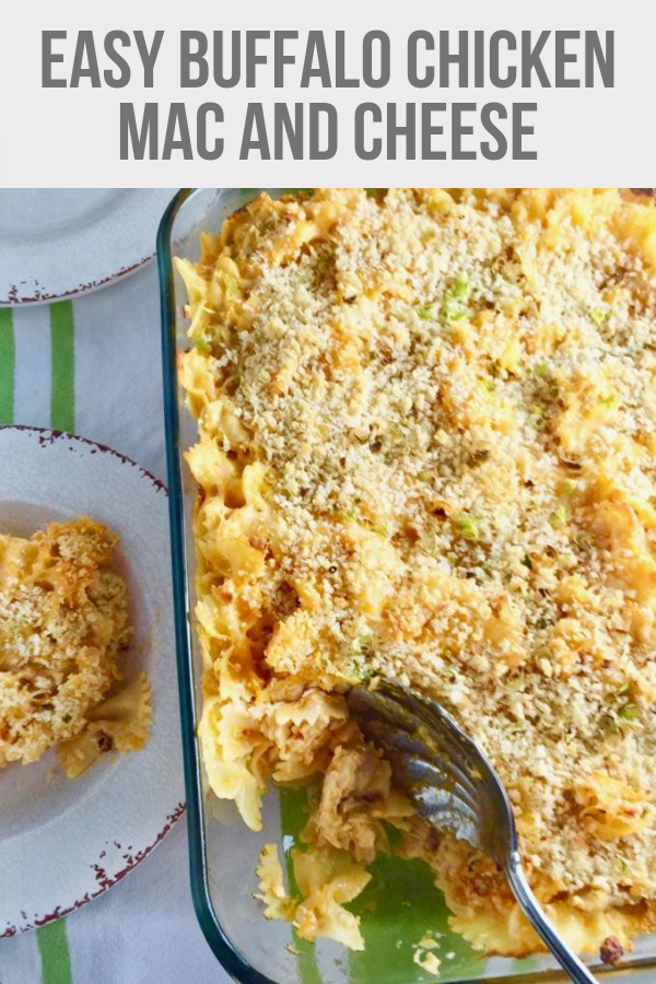 Easy Buffalo Chicken Mac and Cheese images
