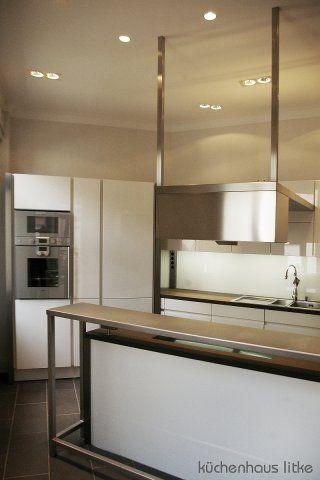 Wir erfüllen fast jeden Wunsch -) Küche LEICHT Avance Lack weiß - küchenzeile weiß hochglanz
