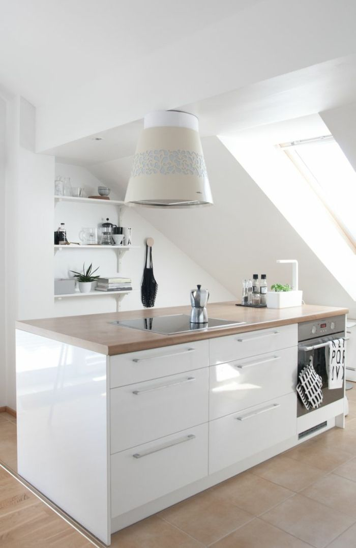 Kleine Küche einrichten - perfekte Organisation beim Kochen ...