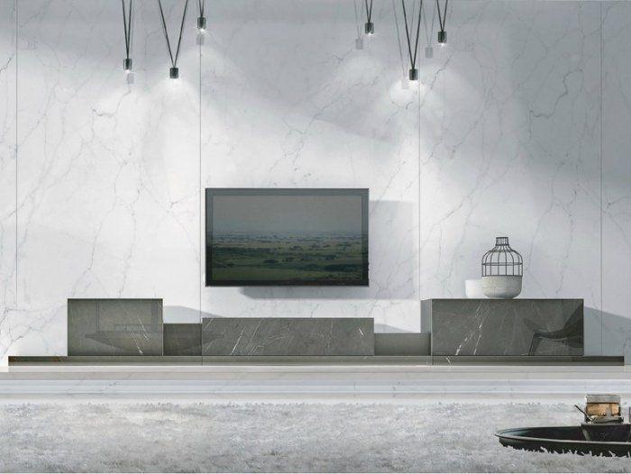 meuble tv design 23 meubles bas pour moderniser le salon - Meuble Tv Living