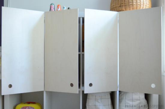 Ikea Hacks Expedit diy plywood doors for ikea expedit shelf ikea expedit shelf ikea