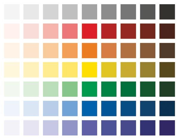 oil painting color mixing chart » 4K Pictures | 4K Pictures [Full HQ ...