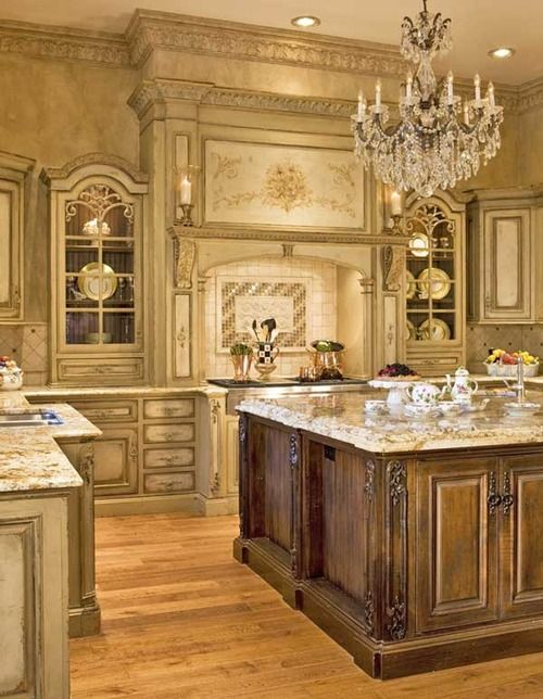 Love This Vintage French Kitchen Look Country Kitchen Designs