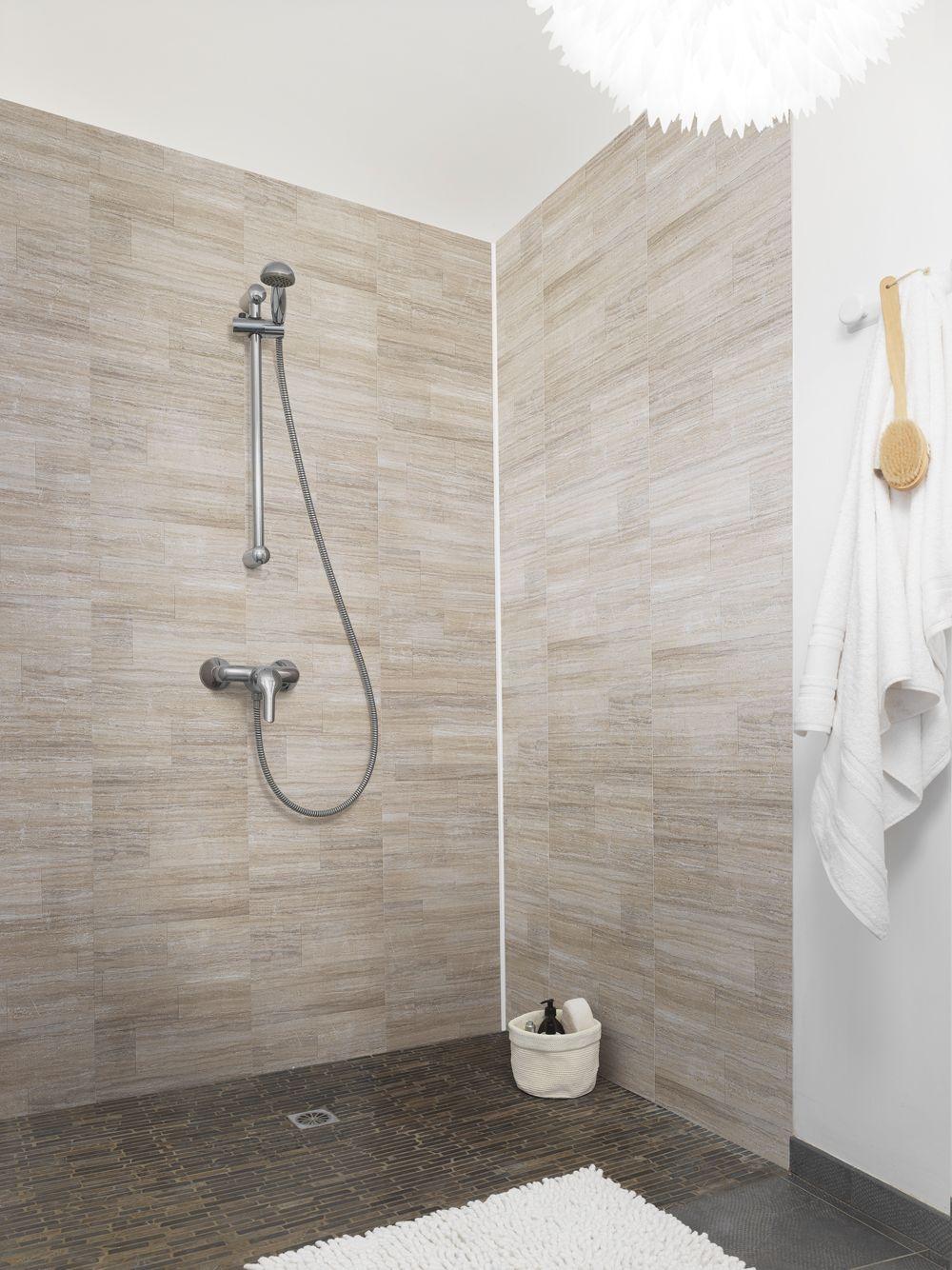 Le rev tement element mineral dune vous propose une - Recouvrir un carrelage mural de salle de bain ...