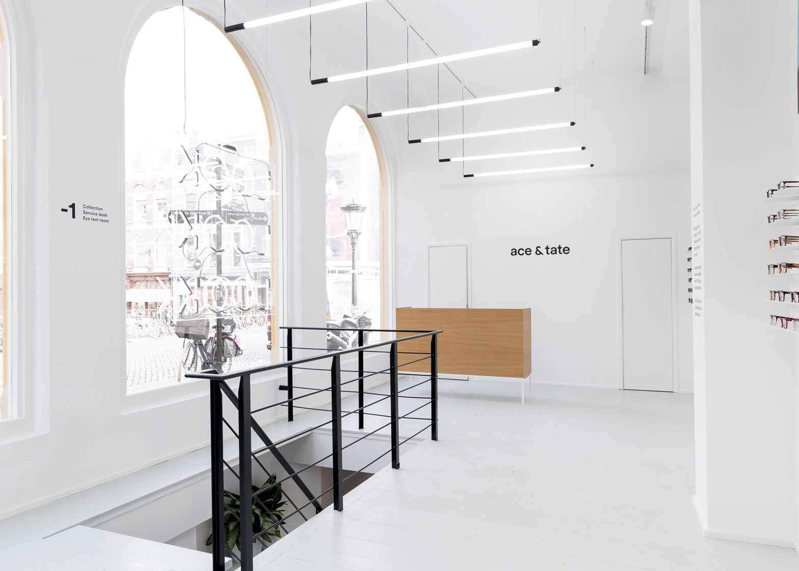 Occult Studio Based The Interior Of This Eyewear Store For Ace Tate On Contemporary Exhibition