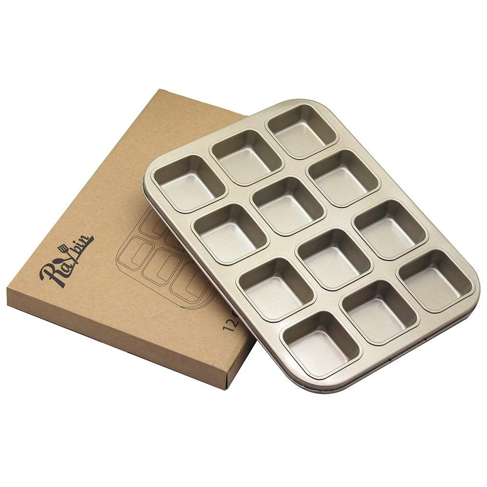 Non Stick Brownie Pan 12 Cavity 2 4 Brownie Square Carbon Steel