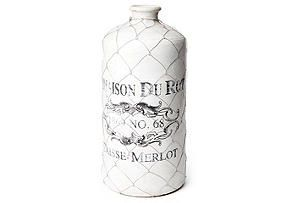 18 French Wire Cage Bottle