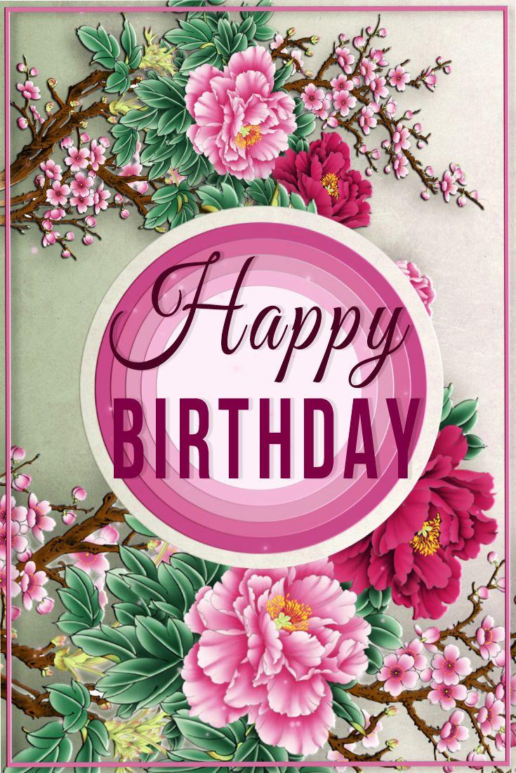 Happy Birthday!🎂Beautiful Animation eCard 4K WhatsApp