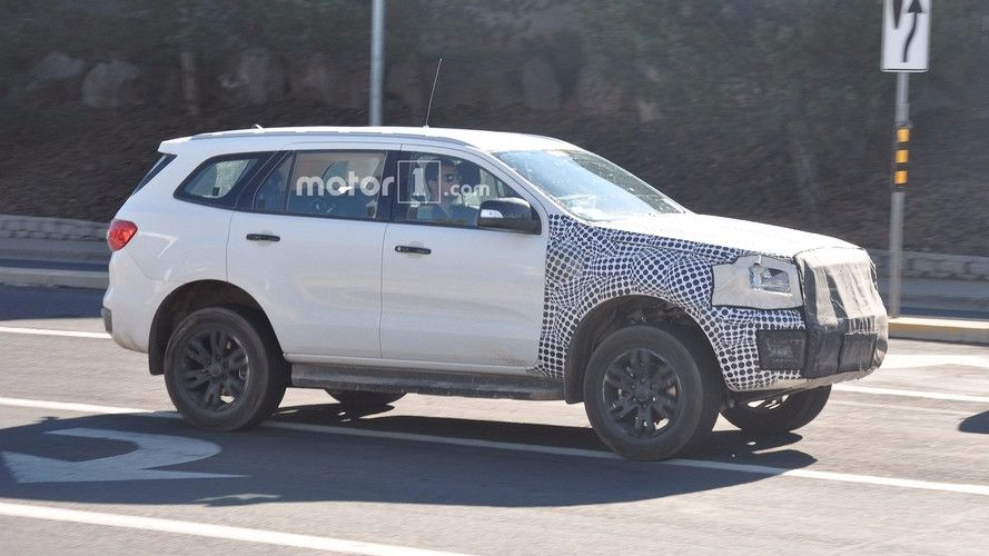 Ford Bronco Spy Photos In 2020