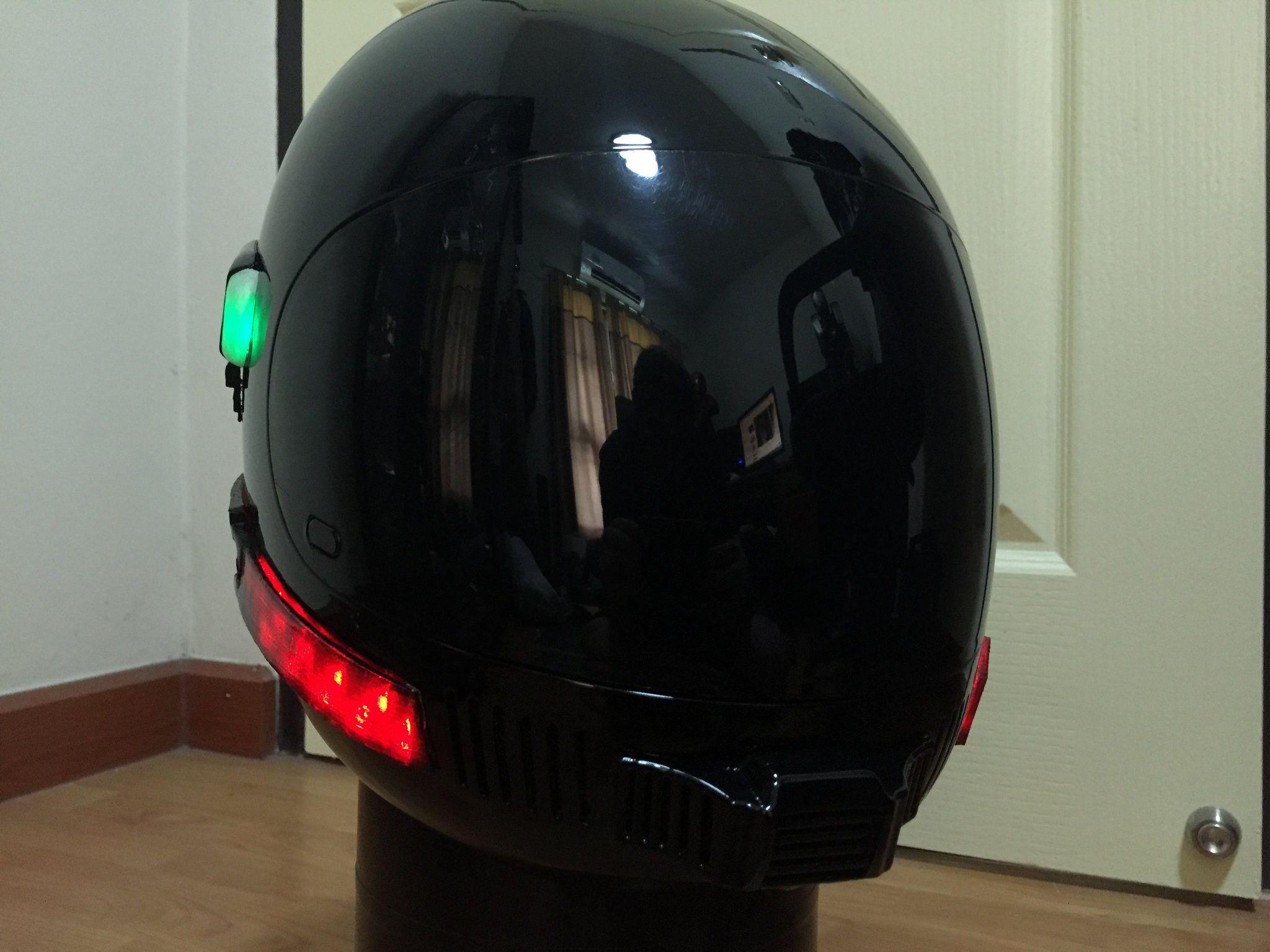 Street Hawk Helmet And 1 6 Bike Helmet Cars Movie Bike