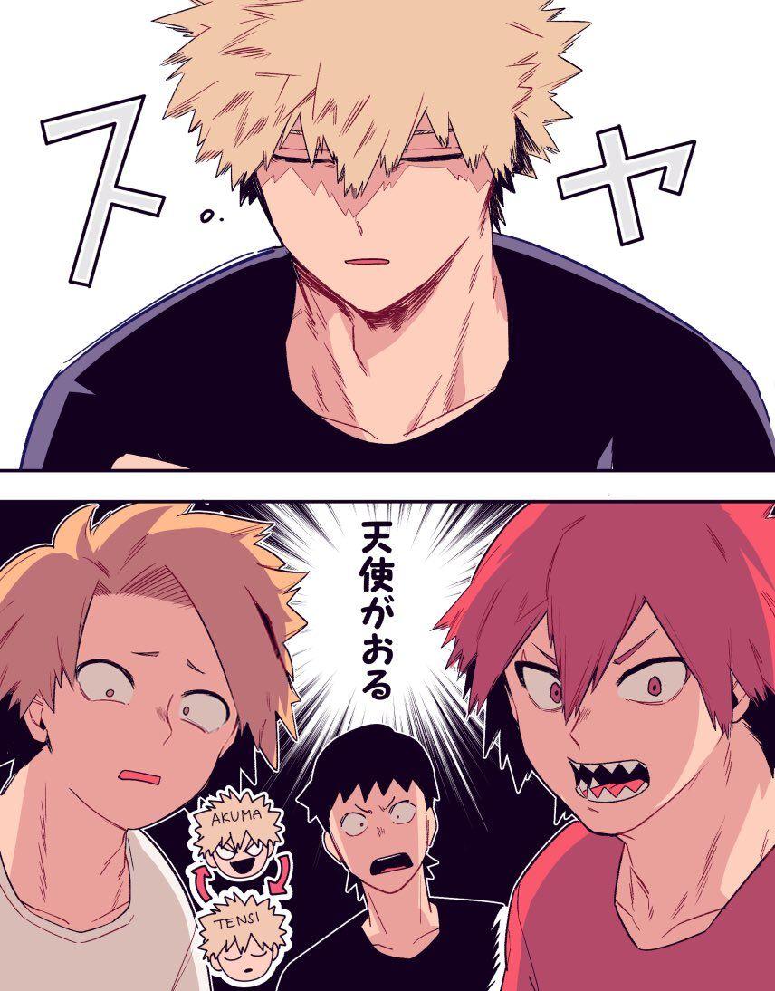 Scary Wildcat By Day Kitten By Night My Hero My Hero Academia Shouto My Hero Academia Memes