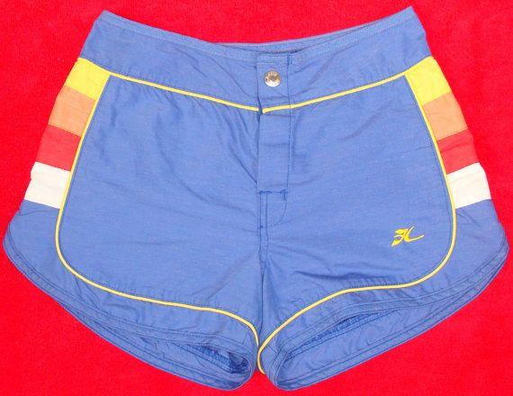 61206f55190f1 Killer vintage board shorts Vintage 80's Hobie board shorts. $29.99, via  Etsy.