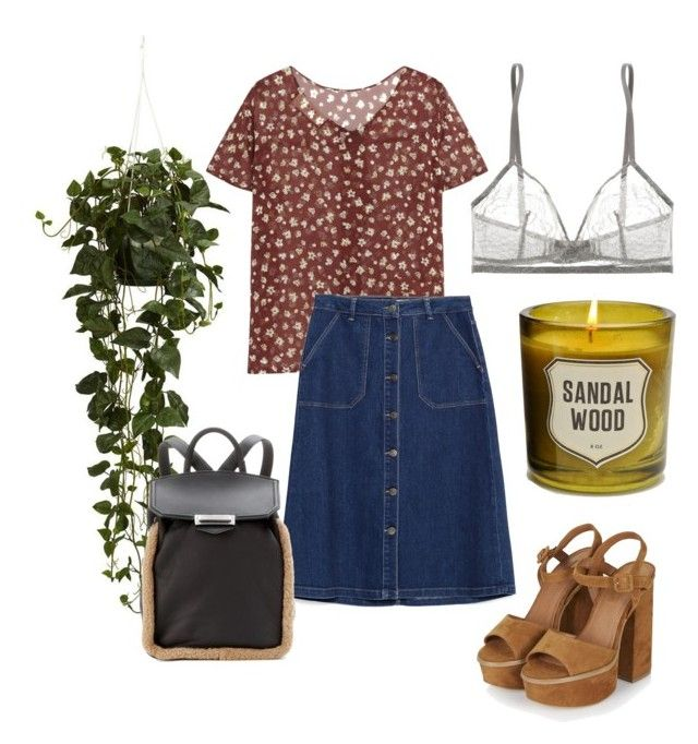 """""""70s college student"""" by samanthaanichols on Polyvore featuring Nearly Natural, Topshop, Izola, Marni, Zara, Eres and Alexander Wang"""